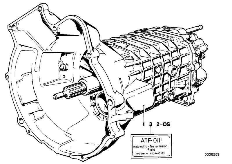 Aufkleber Getriebeöl ATF-OIL 3er 5er 6er 7er 8er Z3  (23111228008)