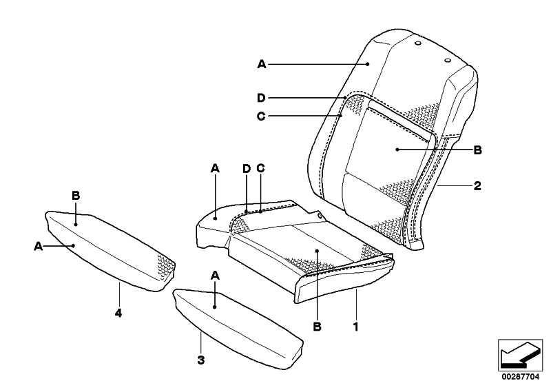 Bezug Sitz Komfortsitz Leder INDIVIDUAL X5  (52107966743)