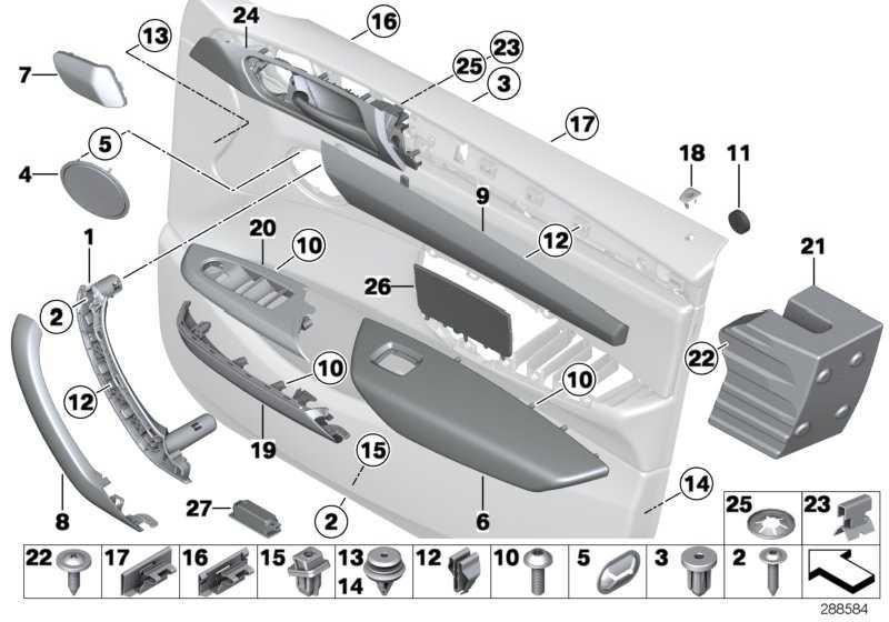 Träger Zuziehgriff links SCHWARZ         X3 X4  (51419209215)