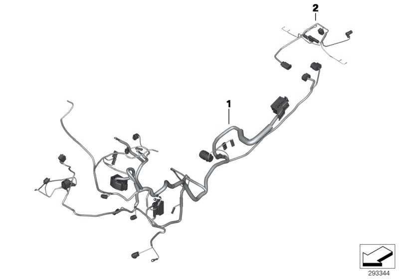 Kabelbaum Heckteil   (61118532308)