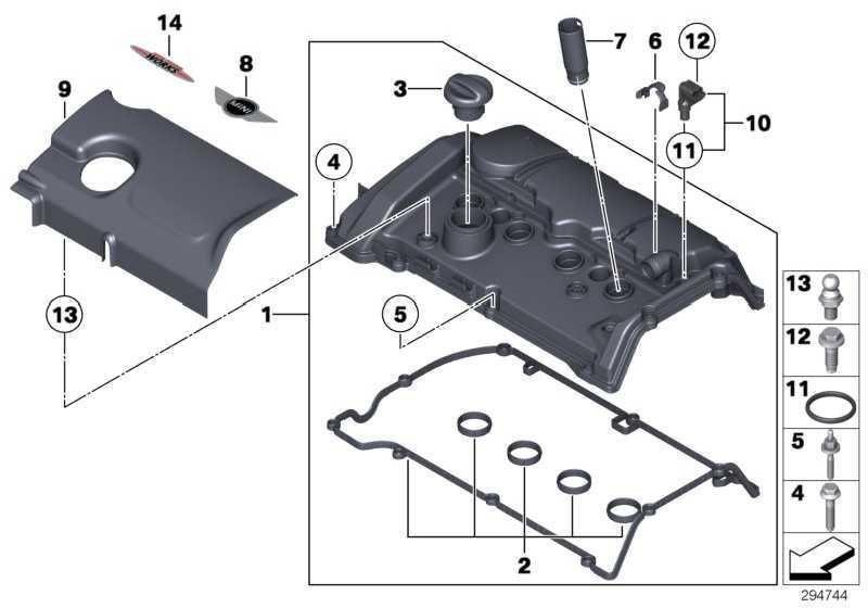 Zylinderkopfhaube  MINI  (11127646552)