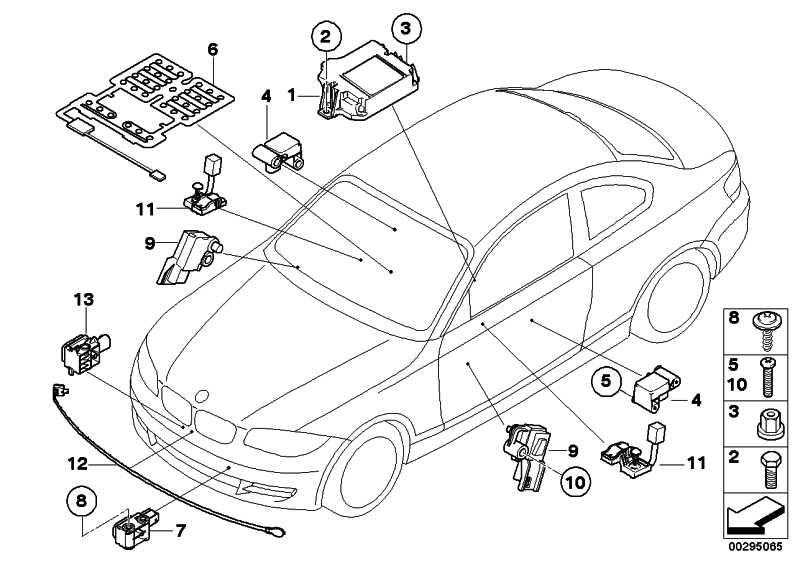Sensormatte Beifahrersitzerkennung  1er Z4  (65779153118)