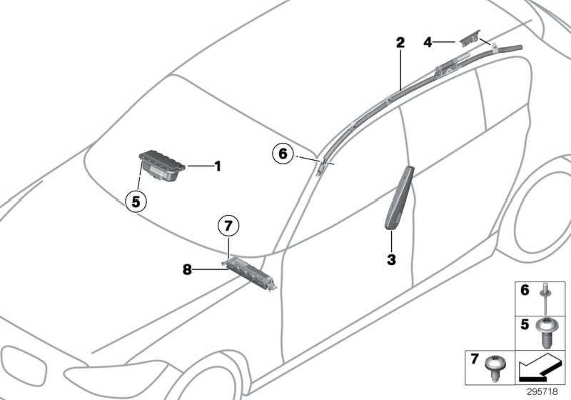 Airbag Beifahrer  1er 3er  (72129205197)