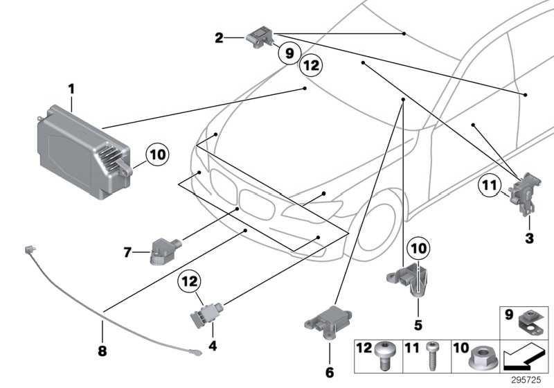 Sensor  5er 6er 7er  (65779241032)