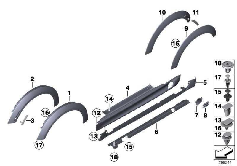 Black Band Schweller rechts BLACK MINI  (51710445884)
