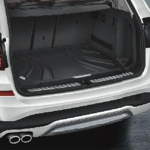 BMW Gepäckraumformmatte Basis schwarz 2er F45 ActiveTourer mit verschiebbarer Rückbank