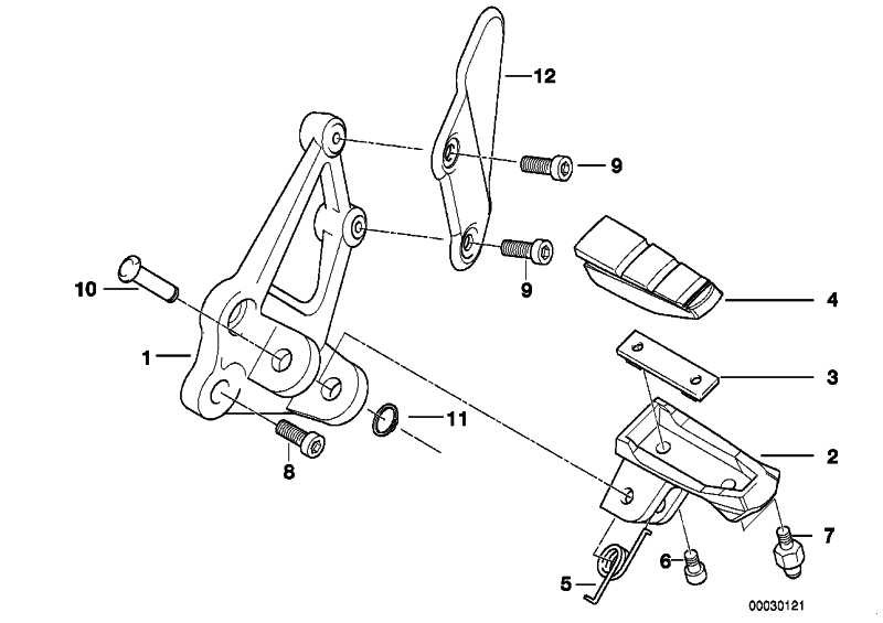 Abdeckung Bremszylinder CFK              (71607661280)
