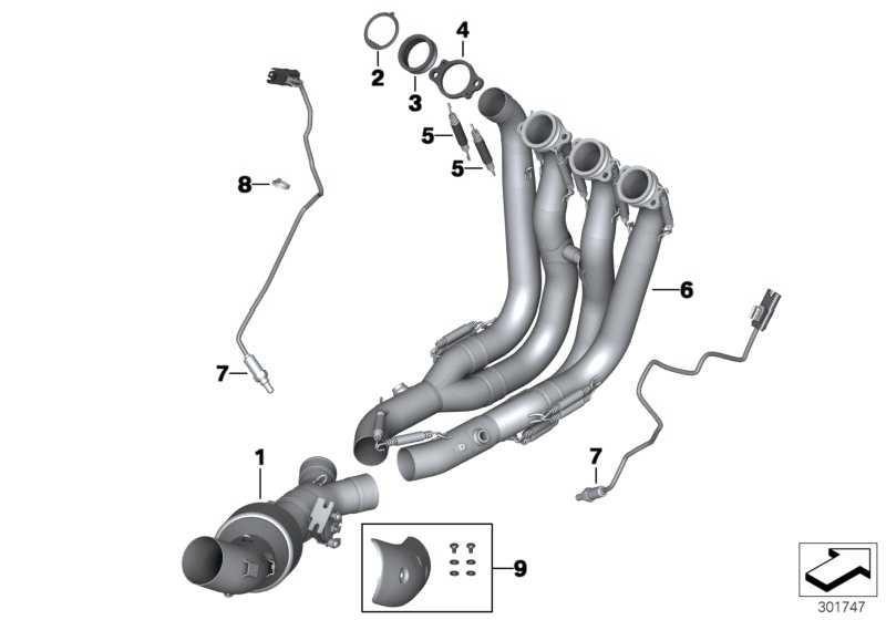 Verbindungsrohr HP Titan Abgasanlage   (18518523998)