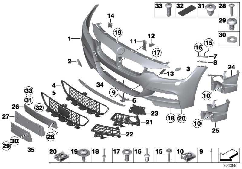 Adapter Motorraumabschirmung M               3er  (51118054187)