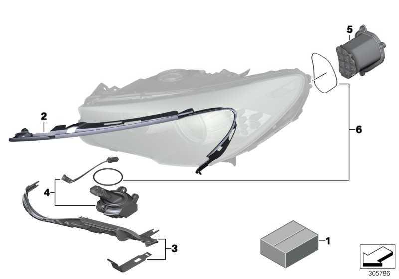 Reparaturset LED Modul  5er  (63127262731)