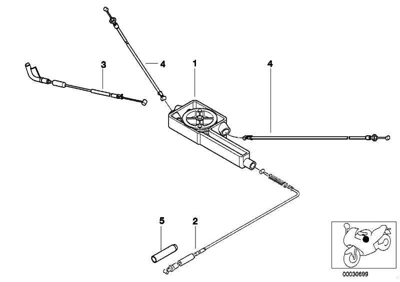 Gaszug L=805MM          (32737659691)