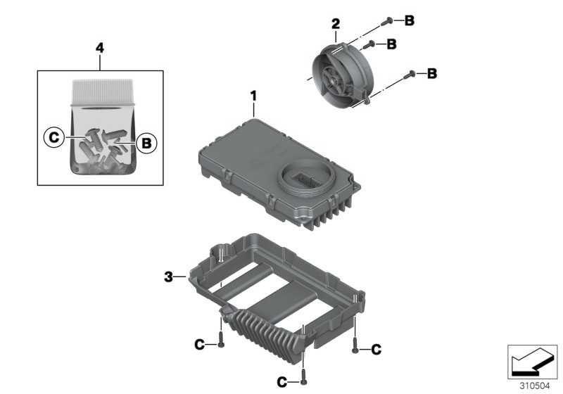Steuergerät LED-Scheinwerfer   (63128528758)