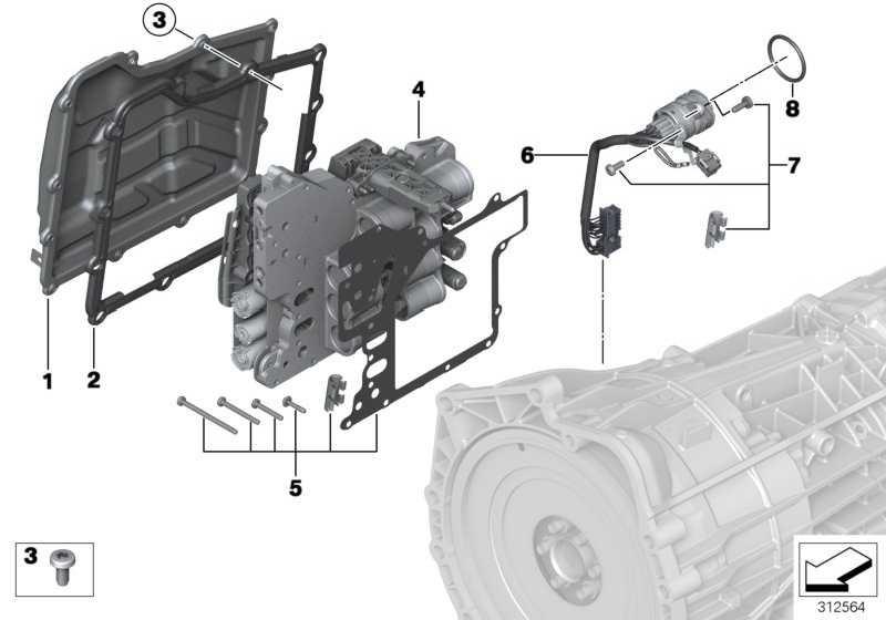 Montagesatz Mechatronik  3er Z4 1er 5er 6er 4er 2er  (28607842861)