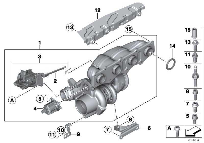 Sechsrundschraube M8X16-8.8-ZNS3  1er 3er X1 X3 Z4  (07119907332)