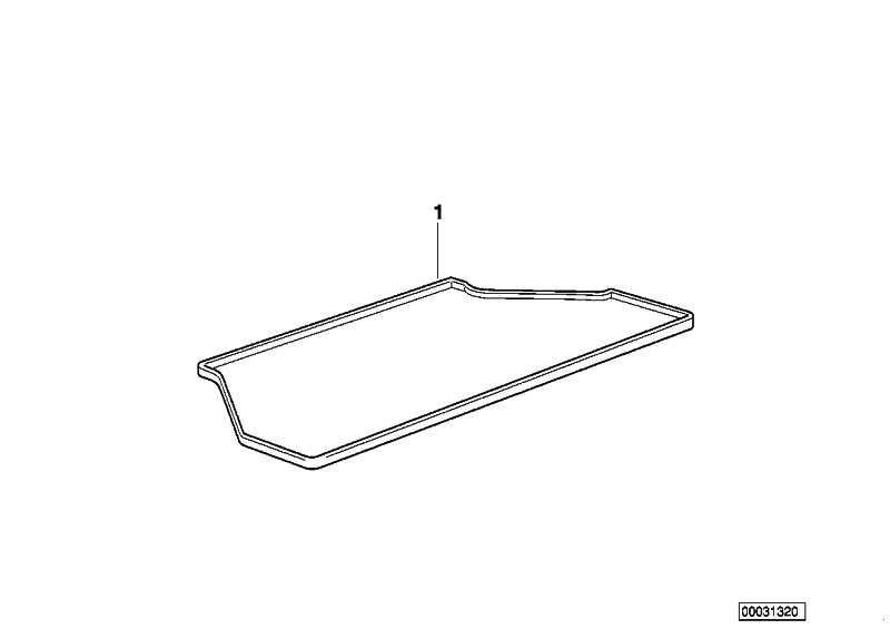 Gepäckraumformmatte  MINI  (51470010564)