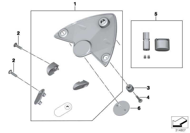 Satz HP Race Cover Kit   (77318520178)