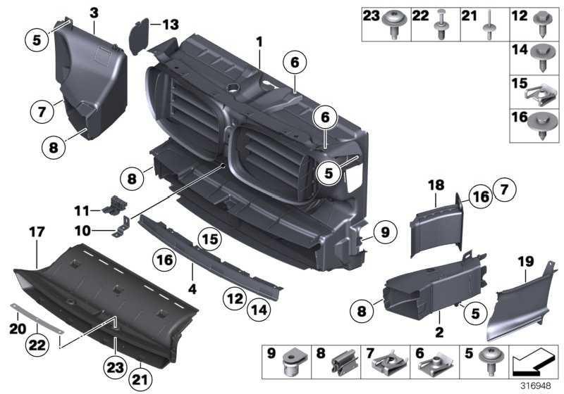 Adapter Luftführung  7er  (51117907155)