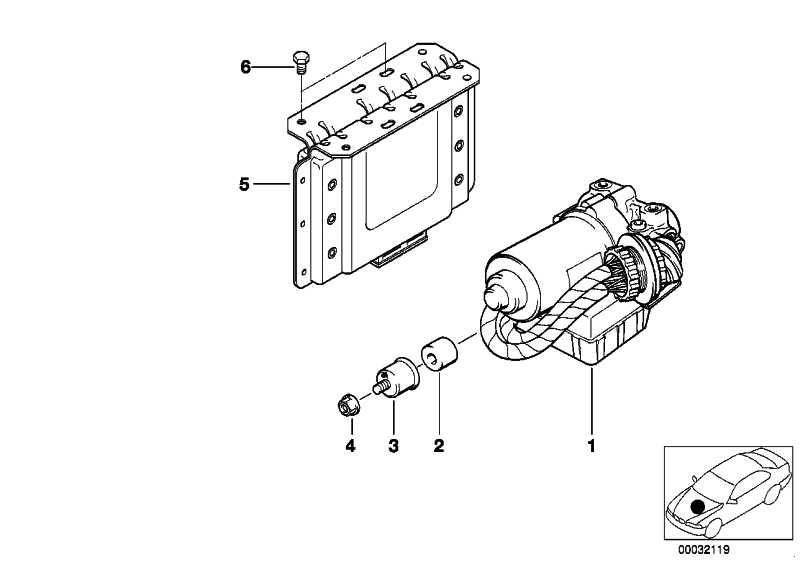 Hydroaggregat ABS  3er Z3  (34512228109)