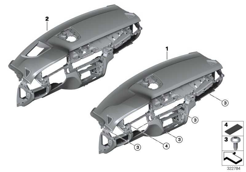 Instrumententafel Leder Head-Up Display SCHWARZ X6  (51459323573)