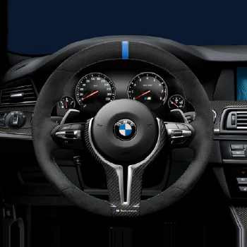 bmw m performance lenkrad alcantara mit carbonblende 5er m. Black Bedroom Furniture Sets. Home Design Ideas