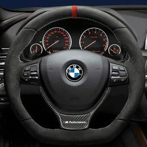 bmw m performance lenkrad alcantara mit carbonblende 5er. Black Bedroom Furniture Sets. Home Design Ideas