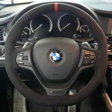 BMW M Performance Lenkrad X3 F25 X4 F26 mit Schaltwippen