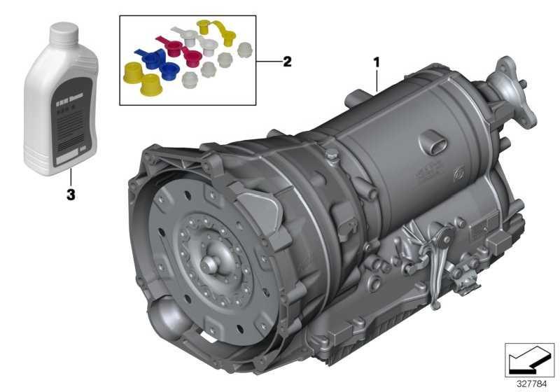 Austausch Automatikgetriebe EH GA8HP70Z        3er 4er 5er 7er  (24008605535)