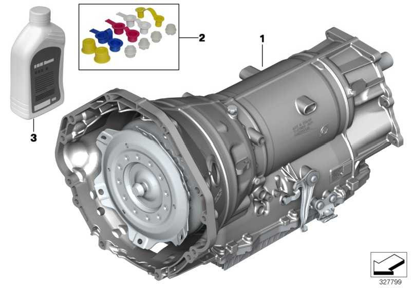 Austausch Automatikgetriebe EH GA8HP70X 5er 6er  (24007644638)