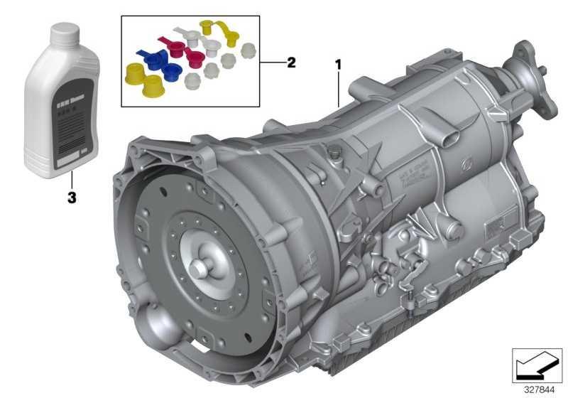 Austausch Automatikgetriebe EH GA8HP45Z        1er 2er 3er 4er 5er X5  (24008615599)