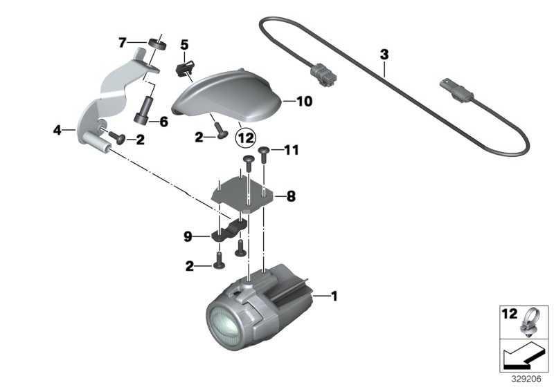 Adapterleitung LED Zusatzscheinwerfer   (63177727616)