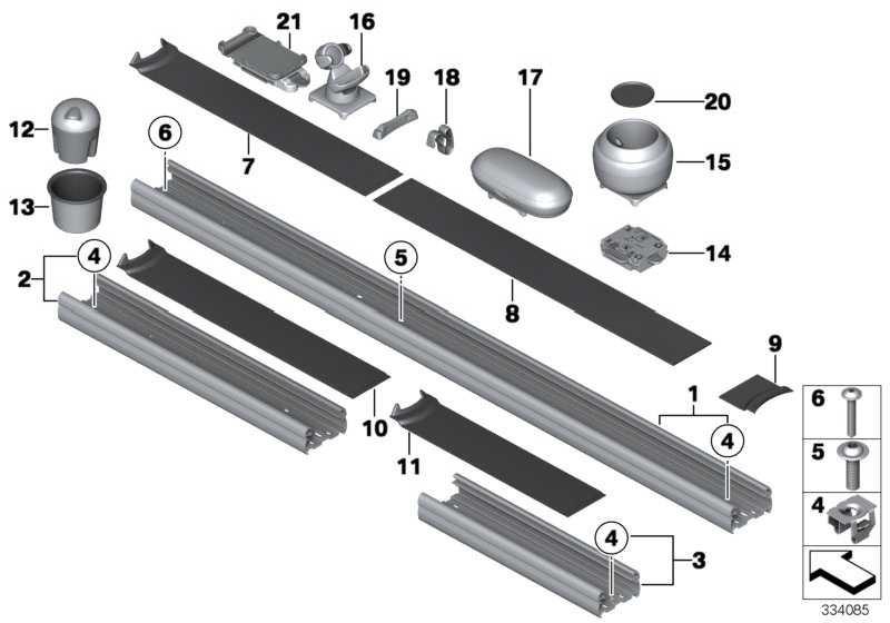 Adapter Schiene  MINI  (51169809203)