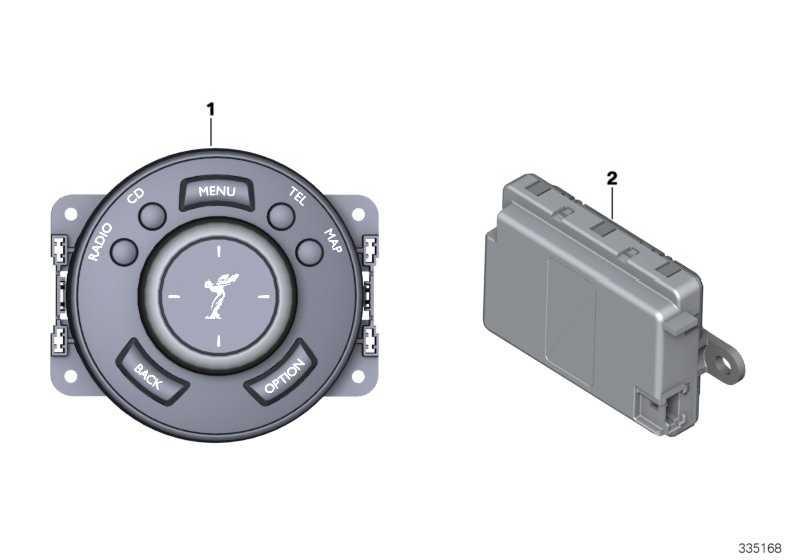 Steuergerät Controller Touch  1er 2er 3er 4er 5er 7er X3 X5 MINI  (65829347470)