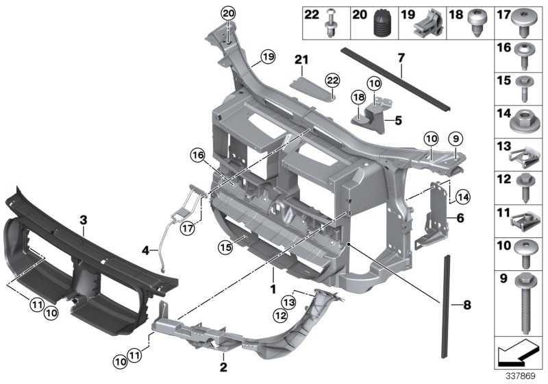 Halter Scheinwerfer links  X1  (51642990179)