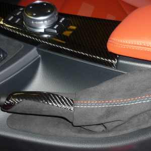 BMW M Performance Handbremsgriff Carbon mit Alcantara Balg M3 F80 M4 F82 F83