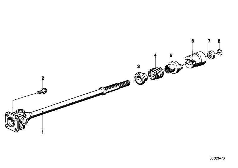 Schraube M8X1            5er  (26111242297)