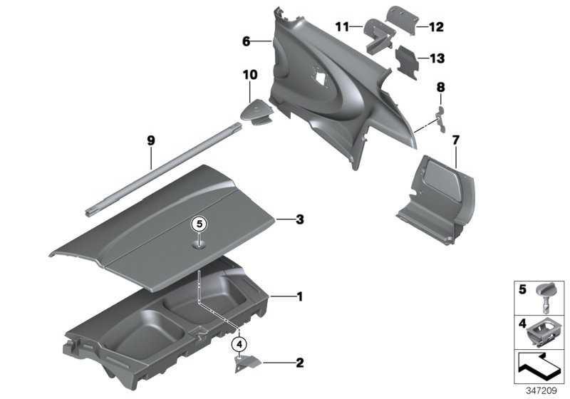 Ablage Bordwerkzeug JCW GP2         MINI  (71107330570)