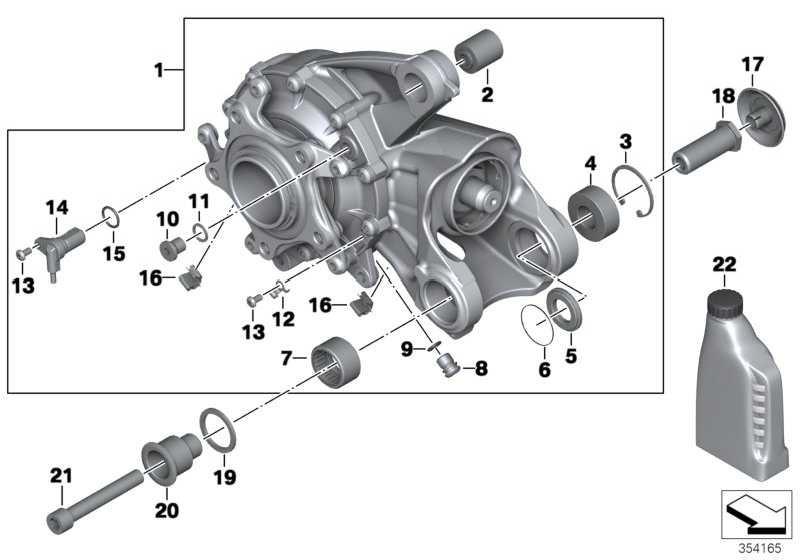 Winkelgetriebe silber I=31:11=2,82     (33118530085)