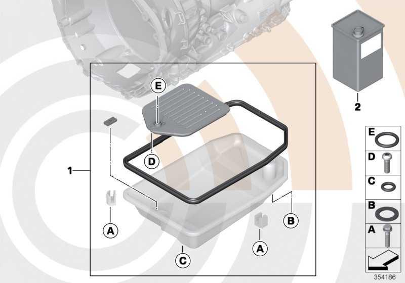 Ölfilterkit Automatikgetriebe VALUE LINE      3er 5er 7er  (24152333920)