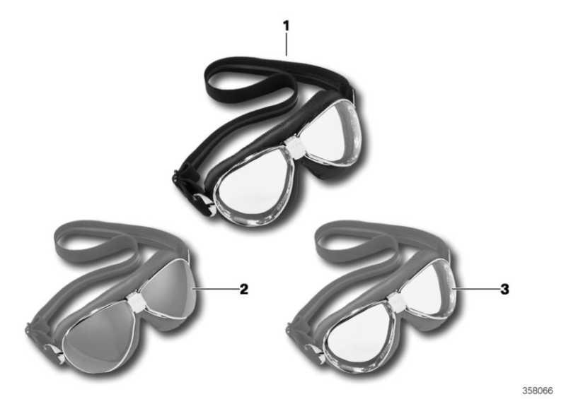 Ersatzscheiben Helmbrille verspiegelt   (76318552893)