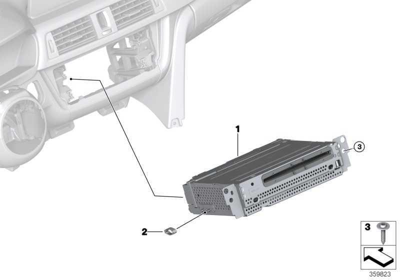 Headunit Basic Navigation  3er 4er  (65129399441)