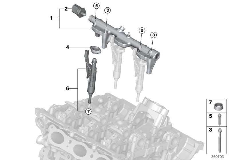 Injektor  MINI 2er 1er 3er 4er X1 7er  (13537639990)