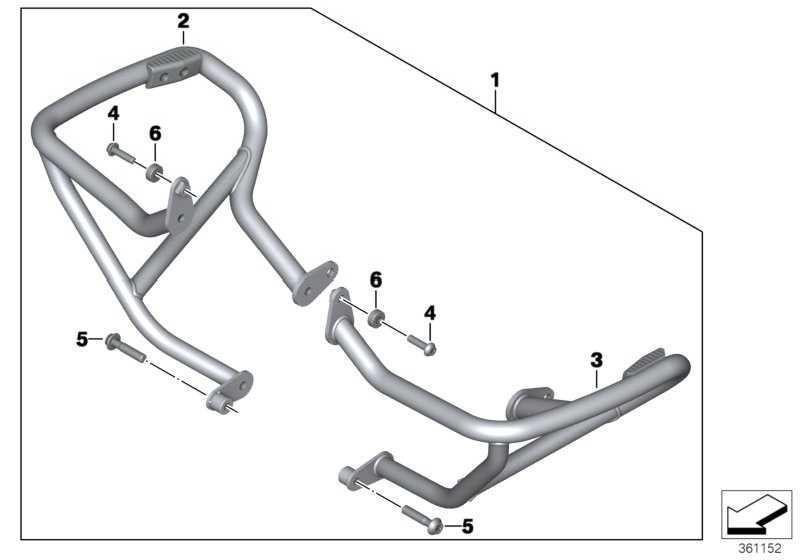 Satz Motorschutzbügel   (77148548686)