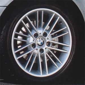BMW Alufelge Sternspeiche 45 silber 7J x 16 ET 47 Vorderachse / Hinterachse 3er E36 E46 Z3 E36