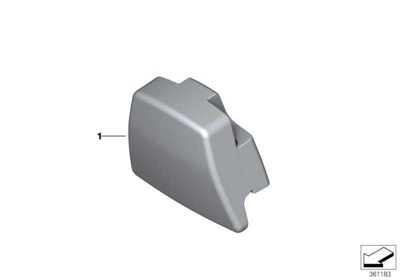 Einleger Kopfstütze  3er 4er  (52108058215)