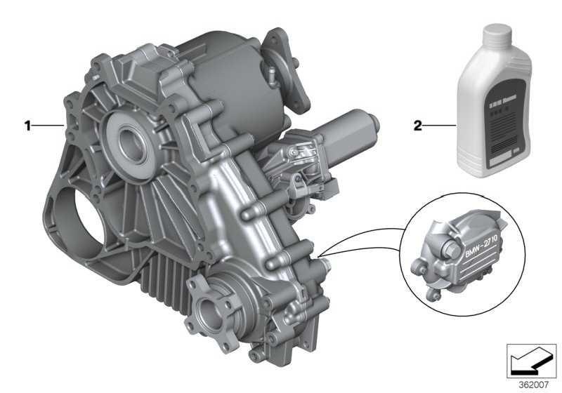 Austausch Verteilergetriebe ATC 400 X3  (27103455138)