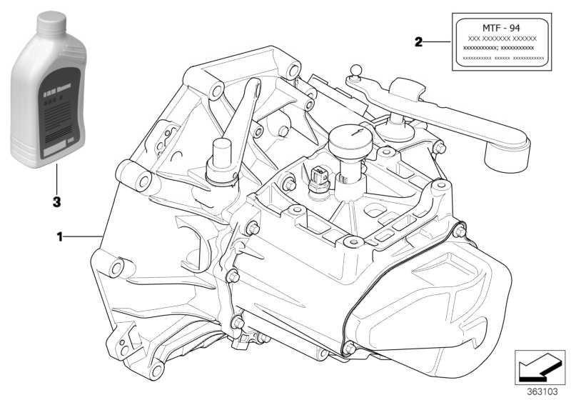 Schaltgetriebeöl MTF 2 1L              MINI  (83222344589)