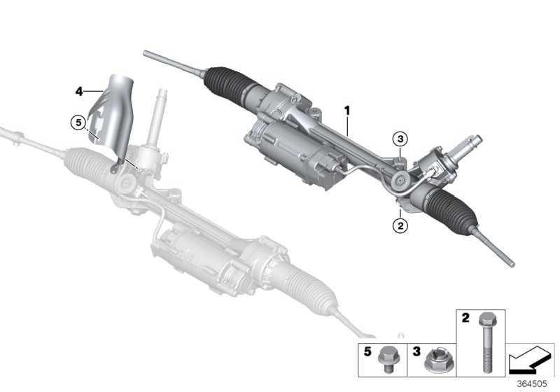 Austausch Lenkgetriebe elektrisch  3er 4er 2er  (32107852660)