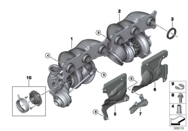 Austausch Turbolader  1er 3er Z4  (11657649291)