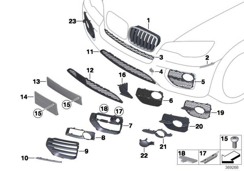 Abstandshalterplatte  X6  (51117343947)