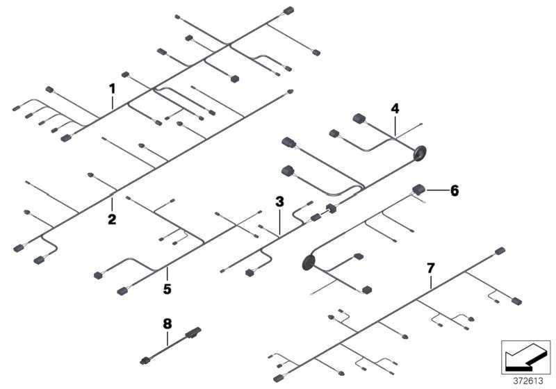 Kabelsatz Frontende  5er  (61129257353)